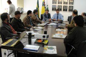 Murilo na Fenasucro, durante missão no ano de 2011; prefeito tem estreitado relações com São Paulo visando investimentos em Dourados.