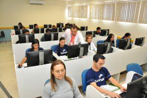 Mais cursos foram concluídos no inicio deste mês, entre eles o de operador de computador, pelo Senac