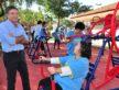 No Parque dos Ipês academia foi parceria com uma empresa local - A. Frota