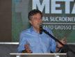 Prefeito Murilo fala na abertura da Feira Agrometal do Mato Grosso do Sul que criou em Dourados para ajudar a fomentar negócios - Foto A. Frota