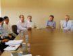 Reunião técnica entre representantes da prefeitura, caixa, empreiteiros e Sanesul