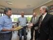 Em novembro, o prefeito Murilo recebeu a visita oficial dos representantes de Kearney, Jerry Fox e Charles Bicak - Assecom/Arquivo