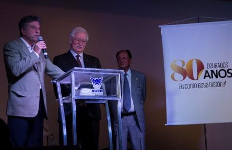 """Projeto """"Dourados 80 Anos – Eu conto essa história"""" foi lançado pelo prefeito Murilo em junho deste ano, na Aced - Chico Leite  """