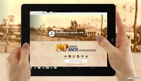 """Projeto """"Dourados 80 Anos – Eu conto essa história"""" foi lançado pelo prefeito Murilo em junho deste ano, na Aced -   """