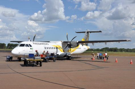 Passaredo passara a oferecer voo direto entre Dourados e São Paulo a partir do início de janeiro - Chico Leite