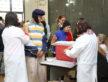 """Movimento foi grande nas unidades de saúde durante o Dia """"D"""" no sábado - A. Frota/Assecom"""