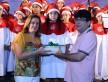 Homenagem em nome das crianças foi feita pelo presidente do Ceia, Francisco Chamorro, o Kinho - A. Frota