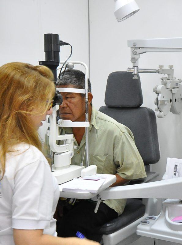 Programa da prefeitura busca 'desafogar' fila de espera para consultas oftalmológicas - A. Frota