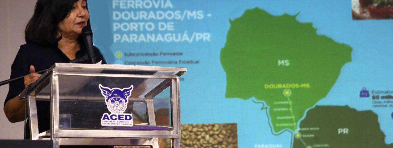 Ferrovia ligando Dourados ao Paraná  ganha fortes aliados após Consulta