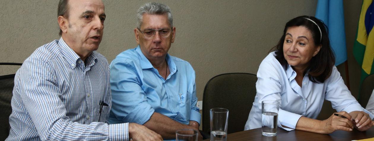 Por unidade em Dourados, prefeita Délia recepciona presidente do Hospital de Barretos