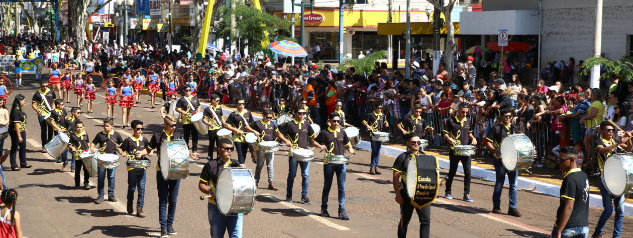 Semed organiza Festival de Bandas e Fanfarras de Dourados