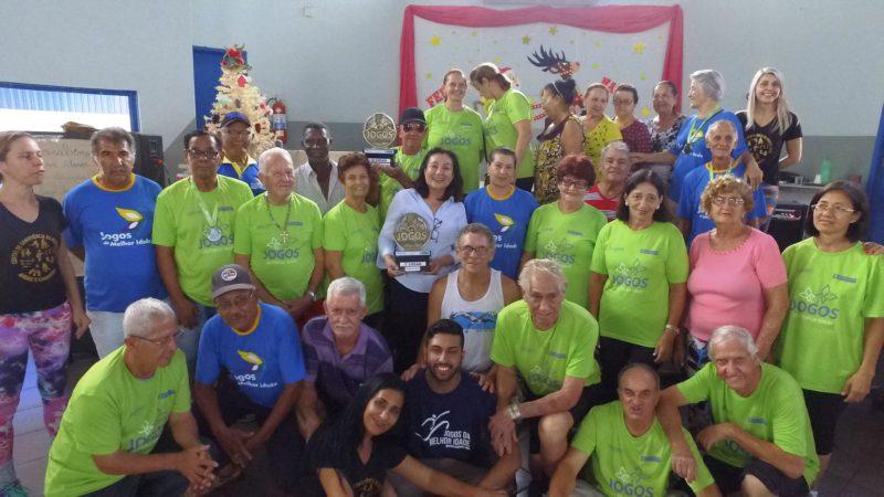 Prefeita recepciona atletas da terceira idade que disputaram jogos em Campo Grande