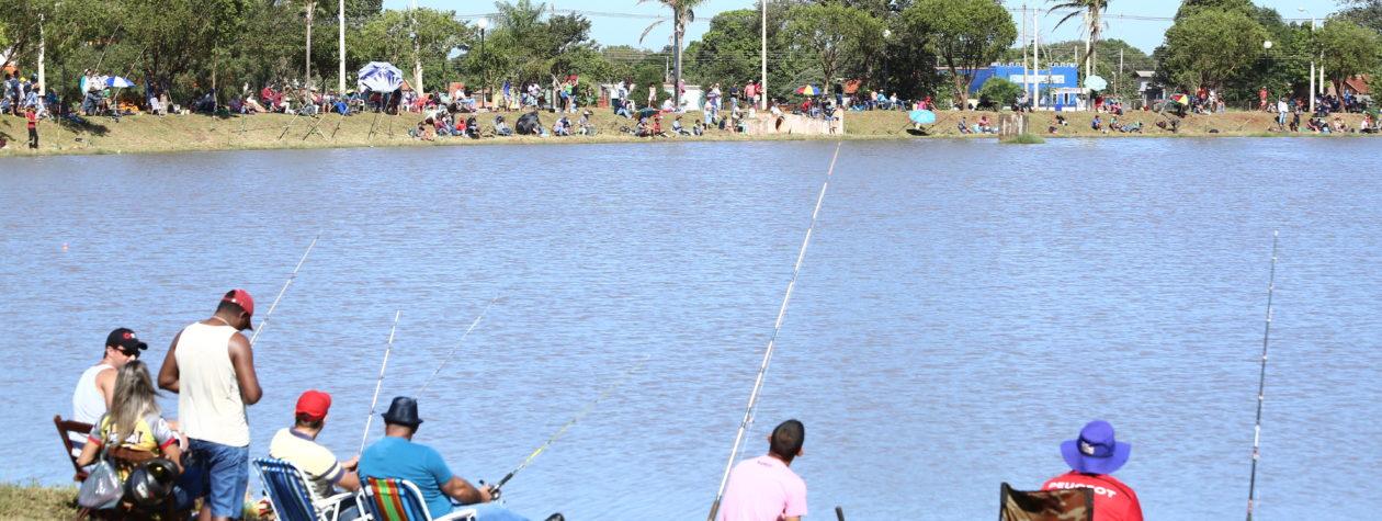 Pesca liberada nos parques será transferida para 1° de abril