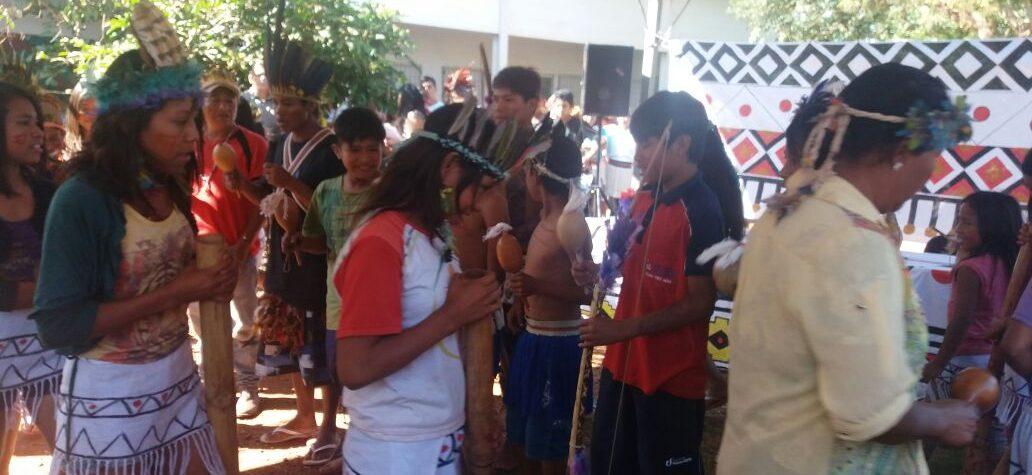 Cras do Canaã I aproxima comunidade da  cultura indígena em dia de comemoração