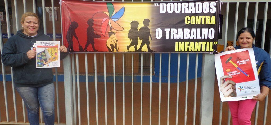 Prefeitura aborda trabalho infantil  com a população no Cras do Canaã I