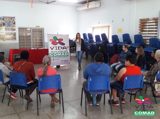 Comad realiza roda de conversa no Cras do Cachoeirinha