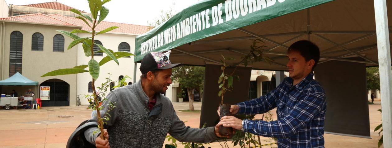 No dia no meio ambiente, Prefeitura  faz ação na Praça Antônio João