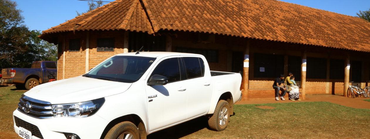 Prefeita Délia entrega veículo para  potencializar atendimento no Cras Indígena
