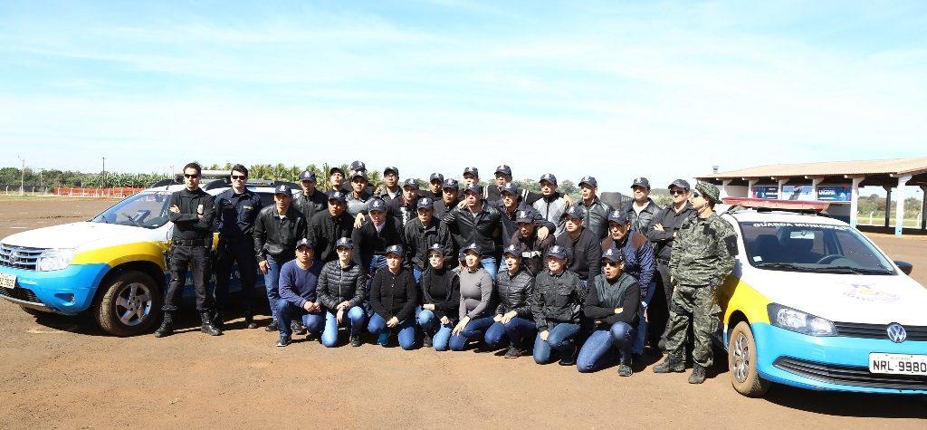 PF ministra curso de direção operacional  a novos guardas municipais de Dourados