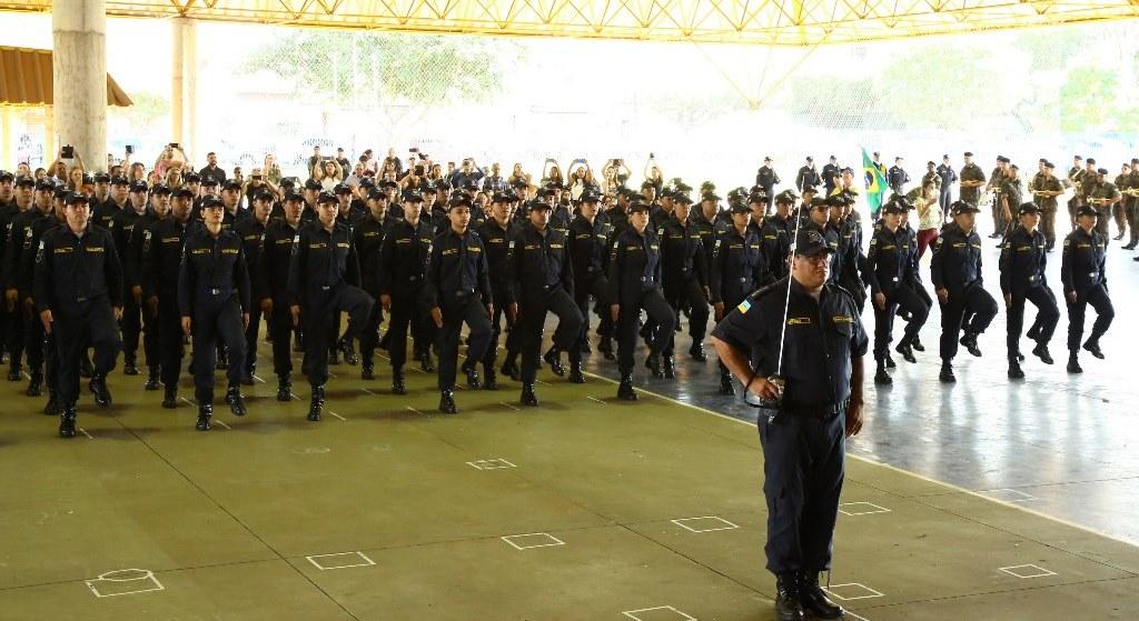 Prefeitura forma turma com 92 novos agentes da Guarda Municipal