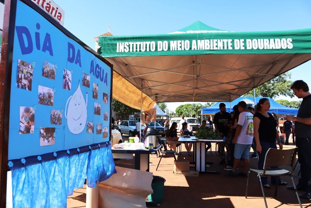 Na Praça, Dia da Água traz mensagens de preservação e combate ao desperdício