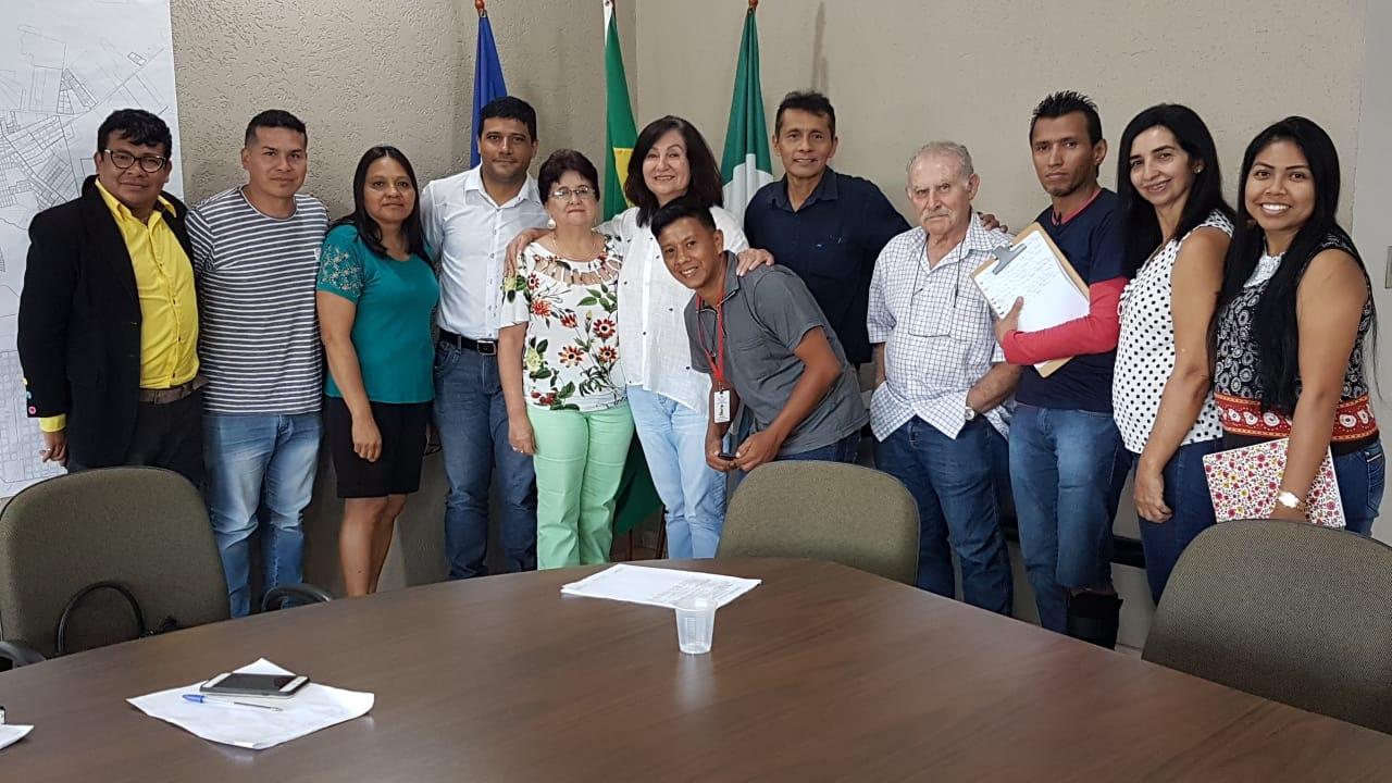 Reunião entre Sems e Sesai debate saúde indígena de Dourados