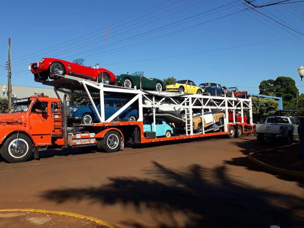 Prefeitura apoia 1º Encontro Estadual  de Veículos Antigos de Dourados