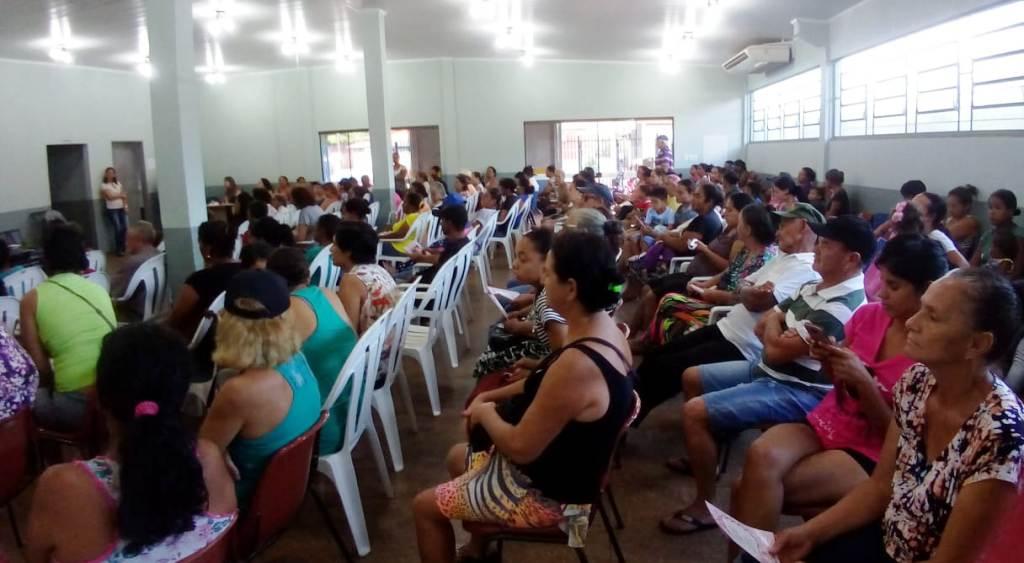 Ação no Cras contou com ampla participação da comunidade