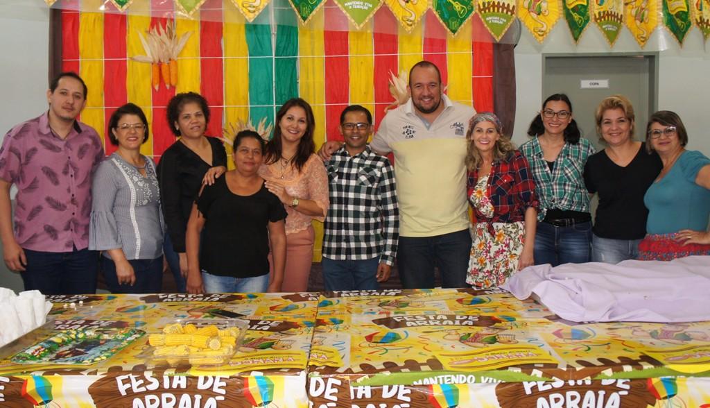 Famílias participam de arraiá no Cras do Canaã I