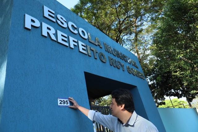 Prefeitura conclui a numeração das  casas de vila São Pedro e Indápolis