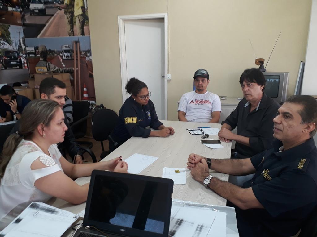 Agetran e Guarda Municipal definem  ações durante o Feirão de Veículos