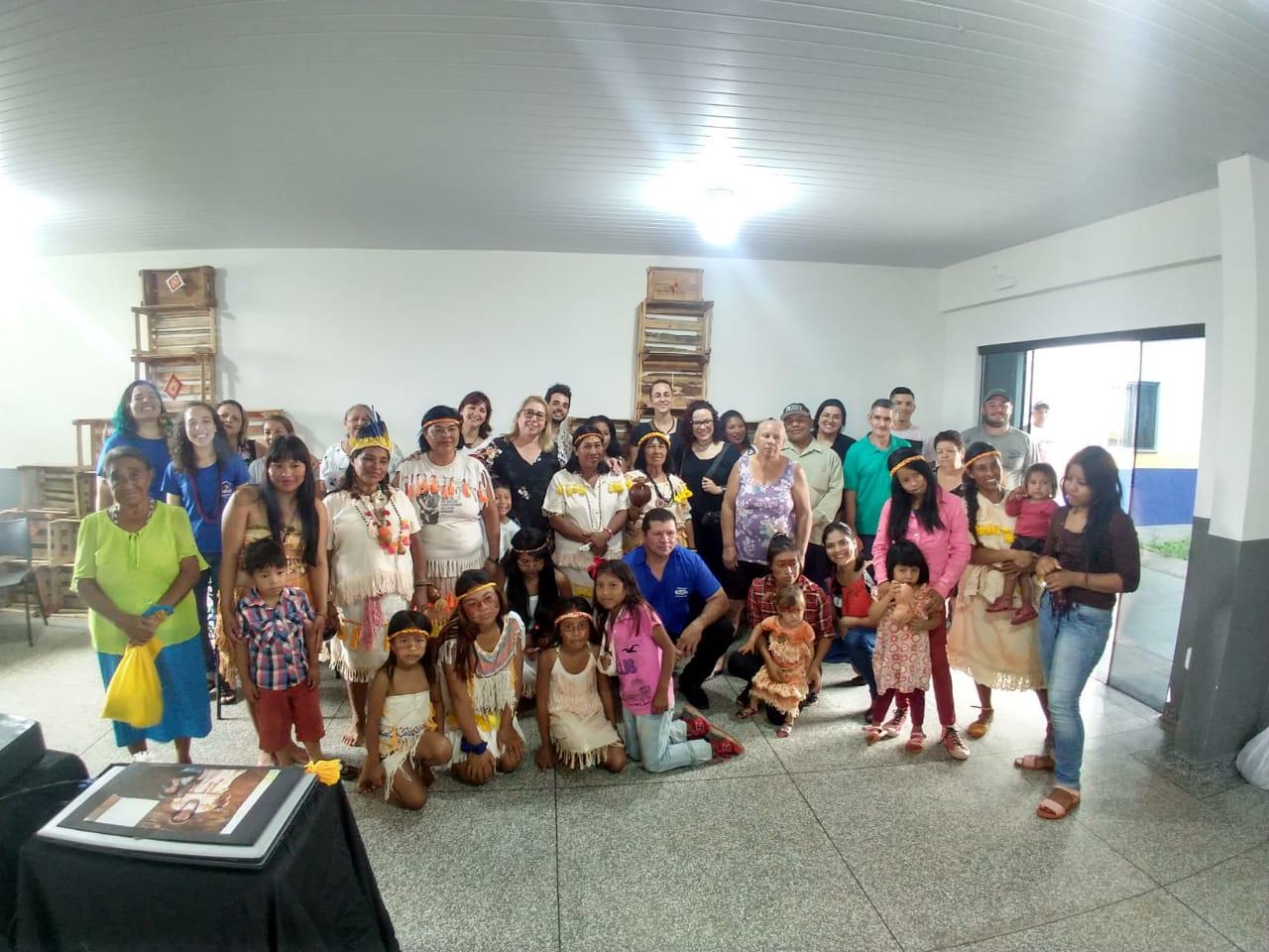 Vila Vargas recebe o Projeto Emo jo 'hasa jaiko'a tecer a vida
