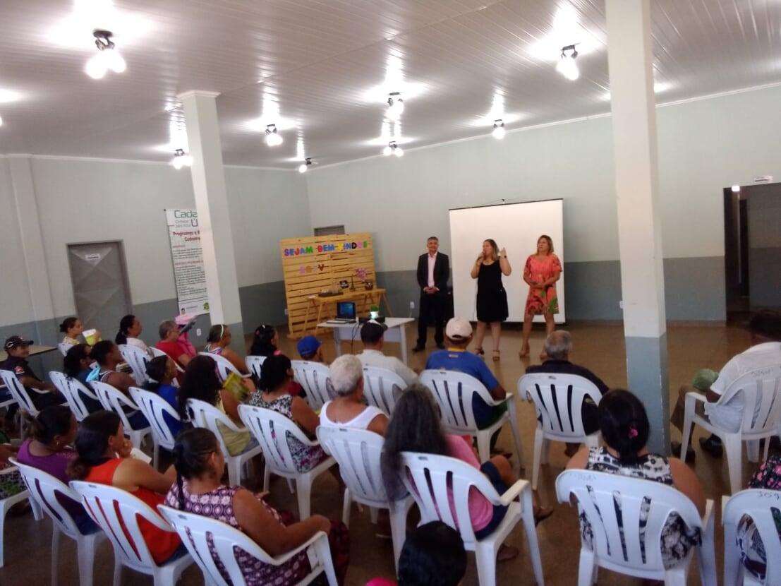 Semas leva palestras a mulheres do Joquei Clube