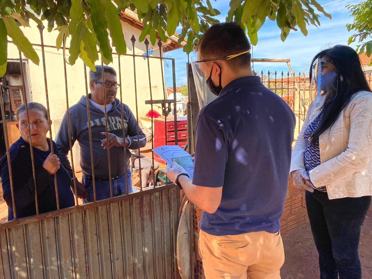 Agehab inicia entrega de escrituras casa a casa