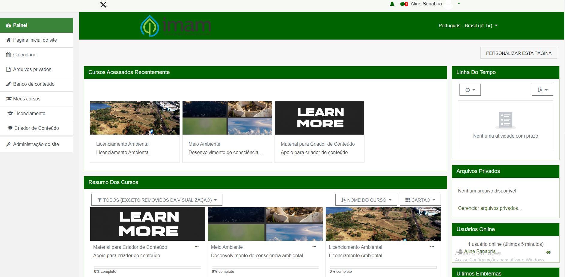 Imam de Dourados disponibiliza cursos online
